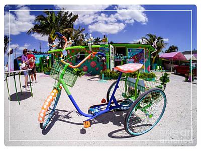 Eccentric Photograph - Matlacha Florida by Edward Fielding