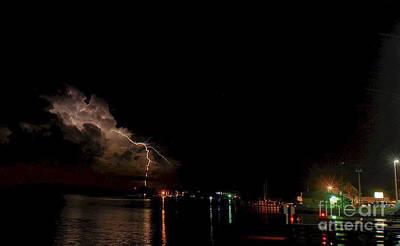 Lightning Photograph - Matlacha Magic by Quinn Sedam