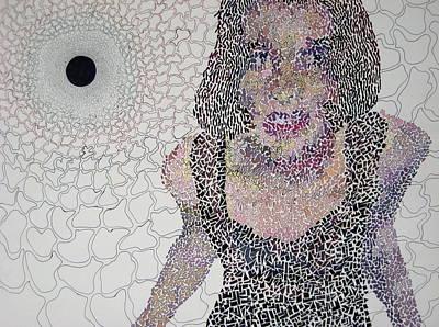 Contemplative Drawing - Matrix by Amy Mackenzie