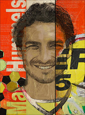 Mats Hummels Original by Corporate Art Task Force