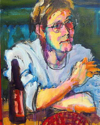 Painting - Matt by Les Leffingwell