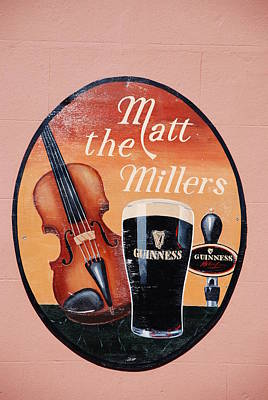 Photograph - Matt The Millers Pub In Kilkenny Ireland by Charlie and Norma Brock