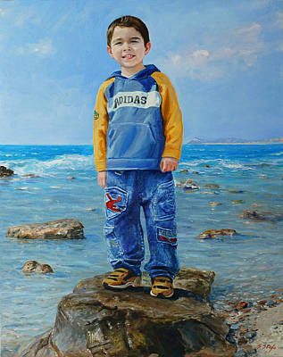 Painting - Matteo by Sefedin Stafa