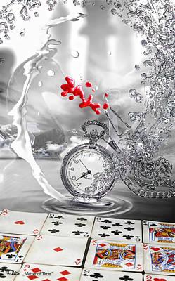 Matter Digital Art - Matter Of Time by Mo T