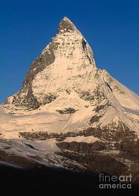 Matterhorn Art Print by Art Wolfe