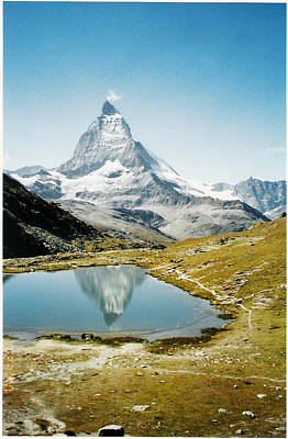 Matterhorn Cervin Reflection Art Print