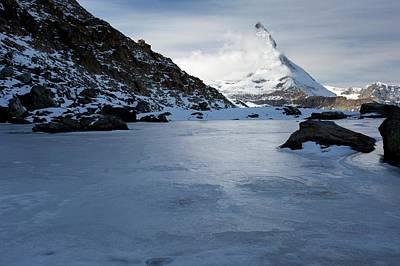 Matterhorn From Switzerland Print by Bob Gibbons