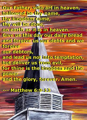 Matthew 6  Print by Mark Moore