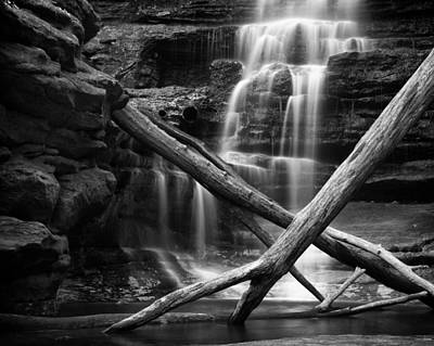 Photograph - Matthiessen Falls Upper Dells by Coby Cooper