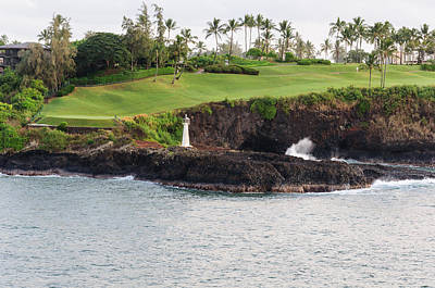 Photograph - Mauai Golf by John Johnson