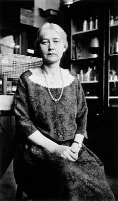 Hall Of Fame Photograph - Maud Menten by National Library Of Medicine