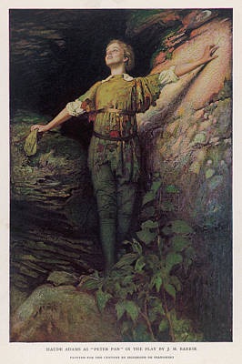 Maude Adams  Actress, As Peter Pan Art Print by Mary Evans Picture Library