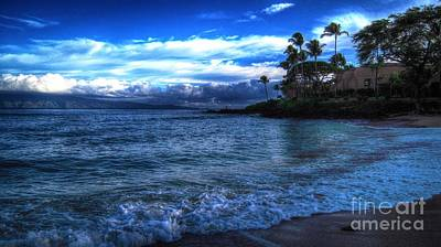 Photograph - Maui At Dusk by Phillip Garcia