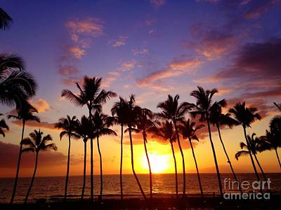 Photograph - Maui At Sunset by Russell Rebelo