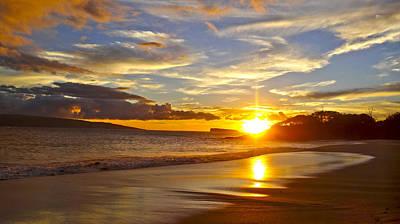 American Milestones - Maui Beach Sunset by Bryan Fong