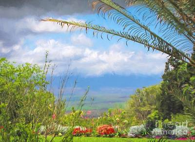Photograph - Maui Botanical Garden by Peggy Hughes