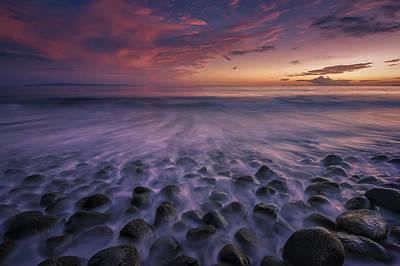 Beach Photograph - Maui Glow by Hawaii  Fine Art Photography