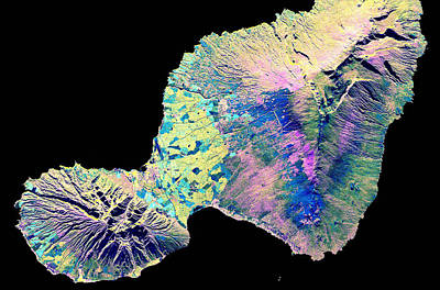 Aperture Photograph - Maui, Hawaii, Sir-cx-sar Image by Science Source