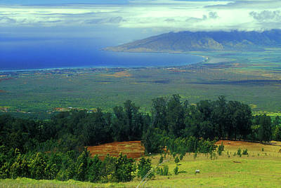 Photograph - Maui Hawaii Upcountry View by John Burk