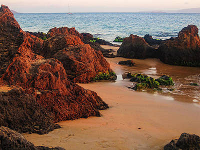 Photograph - Magical Maui Shoreline by Marilyn Wilson
