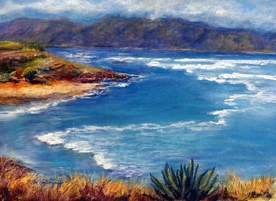 Painting - Maui North Shore by Hilda Vandergriff