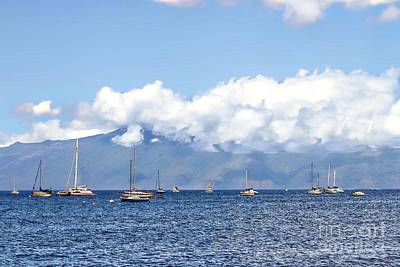 Photograph - Maui Sails by Audreen Gieger