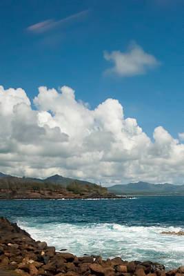 Maui Sea And Surf Art Print