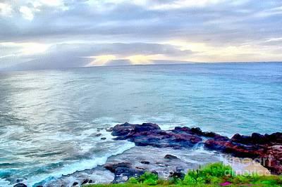 Photograph - Maui Serenity by Krissy Katsimbras
