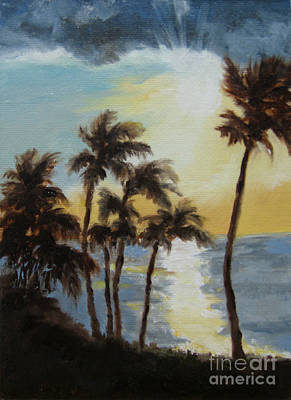 Painting - Maui Sunrise by Vicki Brevell