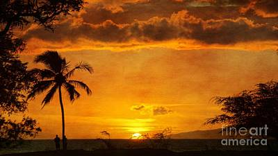 Photograph - Maui Sunset Dream by Peggy Hughes