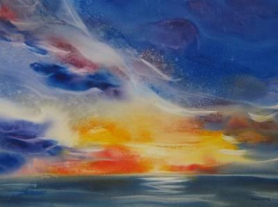 Painting - Maui Sunset by Elena Balekha
