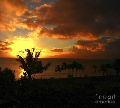 Photograph - Maui Sunset by Max  Greene