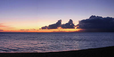 Photograph - Maui Sunset Panorama by Harold Rau