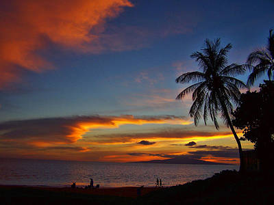 Photograph - Maui Sunset by Ron Roberts
