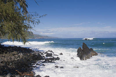 Photograph - Maui Surf by Ronald Lutz