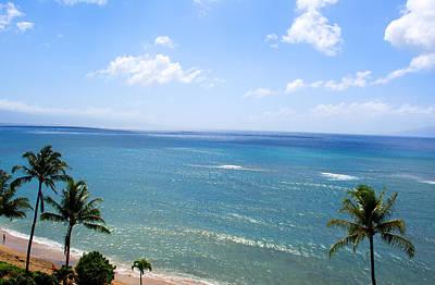 Maui View Art Print