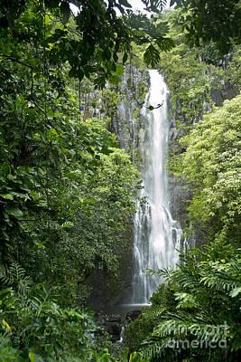 Photograph - Maui Wailua Falls by Russell Rebelo