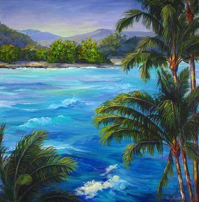 Painting - Maui Waves by Pat Heydlauff