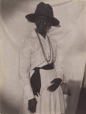 Platinum Drawing - Maum Duck, South Carolina Doris Ulmann, American by Litz Collection