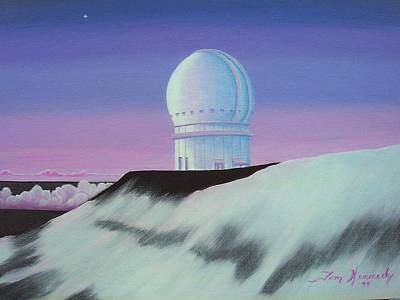 Painting - Mauna Kea In The Morning by Thomas F Kennedy