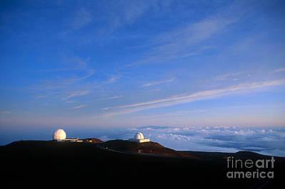 Keck Photograph - Mauna Kea Observatory by Gregory G. Dimijian