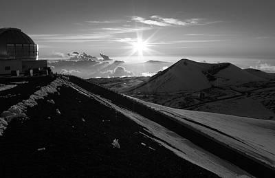 Photograph - Mauna Kea Sundown  by Scott Rackers