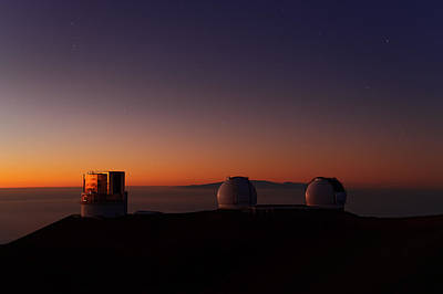 Photograph - Mauna Kea Twilight  by Dustin  LeFevre