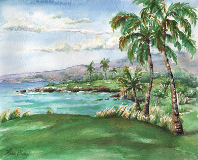 Mauna Kea's Signature Hole Art Print by Lisa Bunge