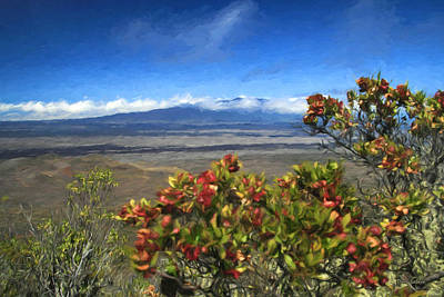 Mauna Kea Digital Art - Mauna Loa Vision by Dan Sabin