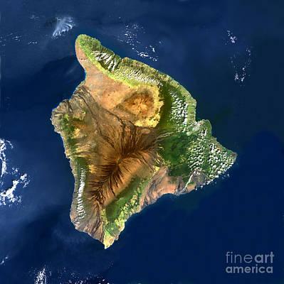 Mauna Loa Volcano, Hawai, Usa Art Print