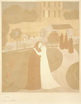 Maurice Denis French, 1870 - 1943. The Visitation La Art Print