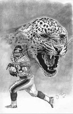 Maurice Jones-drew Art Print