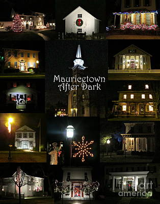 Photograph - Mauricetown After Dark  by Nancy Patterson