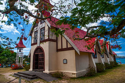 Photograph - Mauritian Fishermen Church In Grand Baie by Jenny Rainbow